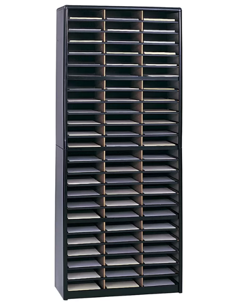 72-compartment-mail-sorter