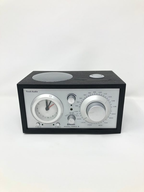 black-wood-clock-radio